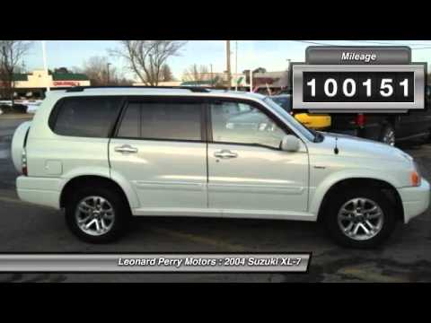 2004 suzuki xl 7 ex iii 4wd point pleasant beach nj 08742 for Leonard perry motors nj
