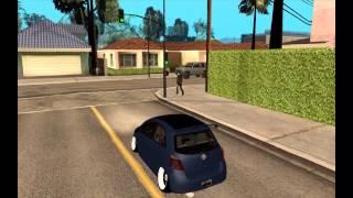 "#142 Toyota Yaris Hellaflush Young Child ""New Cars - GTA San Andreas"""