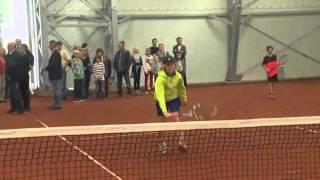 Neue Super-Tennishalle