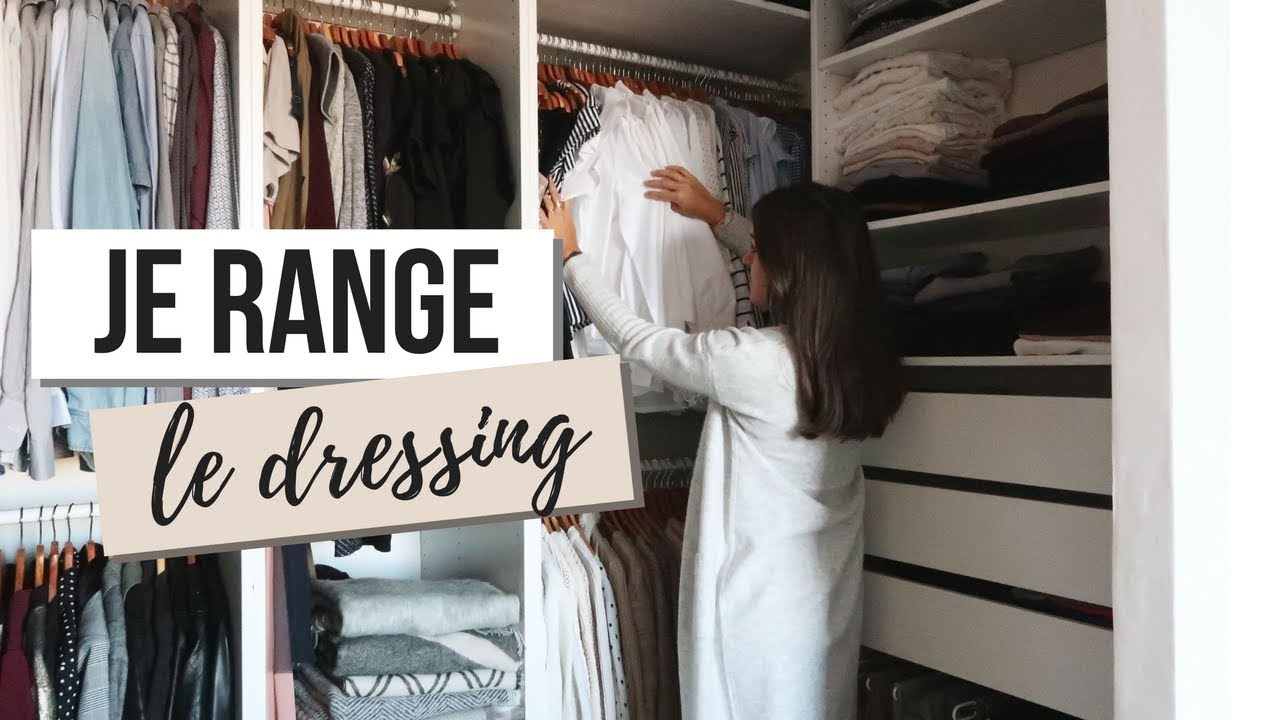 organisation du dressing de l 39 t l 39 automne vlog youtube. Black Bedroom Furniture Sets. Home Design Ideas