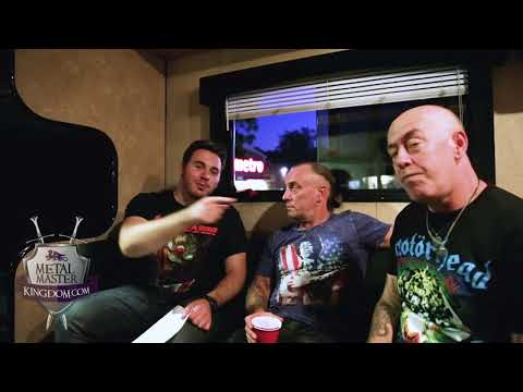 Interview with Demolition Man and Mantas...