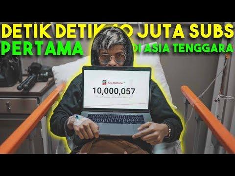 Detik Detik 10 JUTA SUBS PERTAMA DI ASIA TENGGARA!
