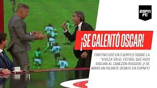¡SE CALENTÓ OSCAR! #Fantino hizo enojar al Cabezón #Ruggeri usando un ejemplo sobre la 'viveza'