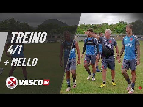 TREINO 04.01 + ANTÔNIO MELLO | VASCOTV