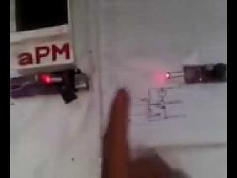 cara membuat alarm laser sederhana