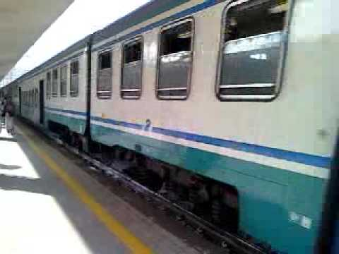 Treno Regionale 3714 In Arrivo A Salerno - YouTube