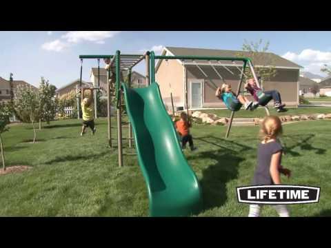 Lifetime Monkey Bar Swing Set (90143)