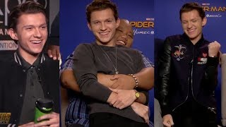 Tom Holland Funny & Cute Interview Moments