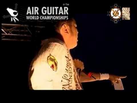 Dainoji - AIR GUITAR WORLD CHAMPIONSHIPS 2008