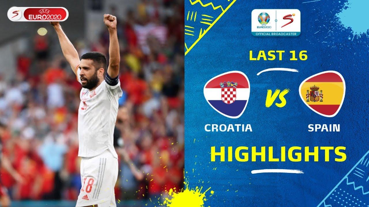 Download UEFA Euro 2020   Last 16   Croatia v Spain   Highlights