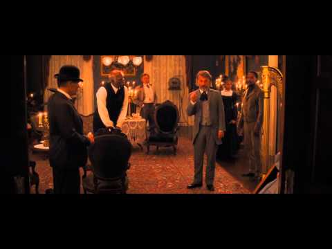 Dr Schultz refusing to shake Candie's hand scene (Django Unchained)