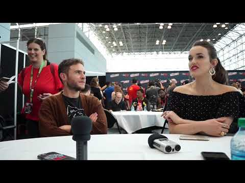 Iain De Caestecker & Elizabeth Henstridge for Agents of SHIELD at NYCC 2017