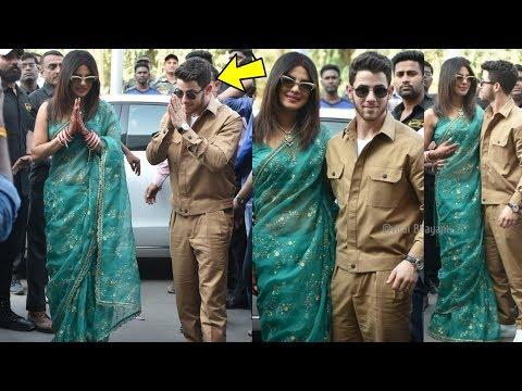 Priyanka Chopra and Nick Jonas first pics after their marriage