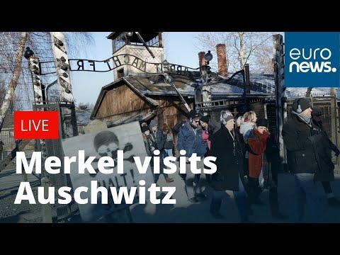Angela Merkel visits Auschwitz | LIVE