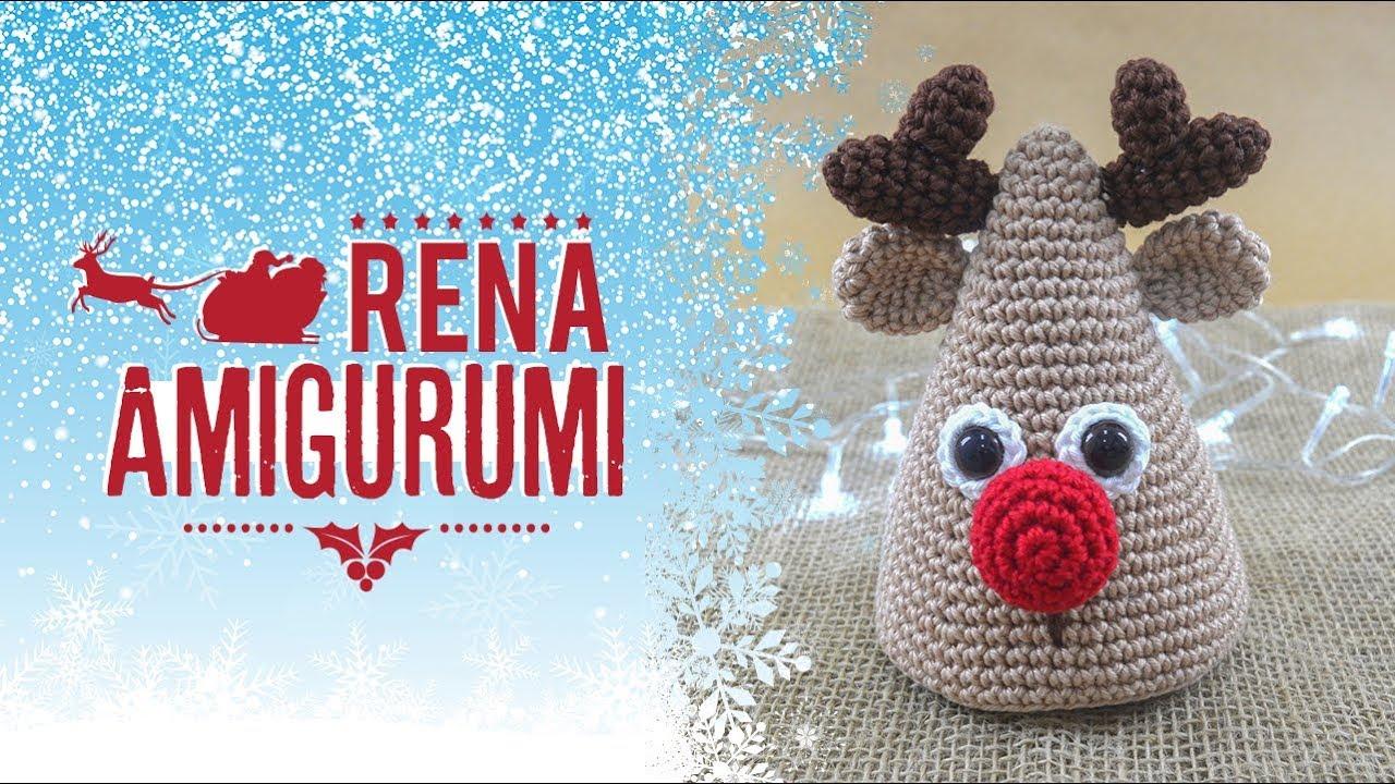 Boneco de neve amigurumi enfeite de natal Renata Vieira - YouTube | 720x1280