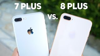 iPhone 8 Plus VS. 7 Plus! // CAMERA TEST!
