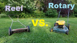 Reel Mower vs. Rotary Mower ~ Which Is Better?