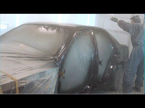 Кузовной ремонт Toyota Chaser  Кузов последний грунт и покраска
