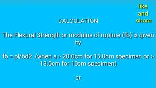 TEST OF CONCRETE (IS:516-1959),||,||EQUIPMENT & APPARATUS,||.FLEXURAL STRENGTH by dnsh_blogs