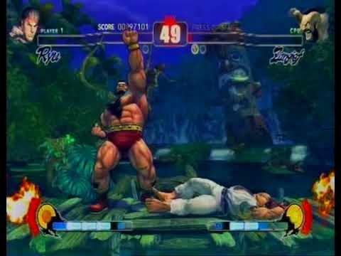 Игры на вынос -  Street Fighter 4