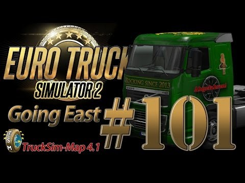 Euro Truck Simulator 2 Going East DLC [HD] ✪ Let's Play #101 |