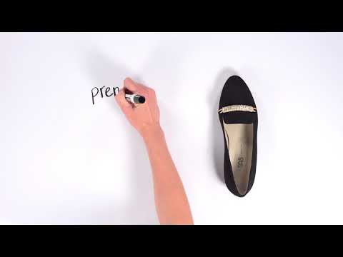 Video for Nicolette Slip On Loafer this will open in a new window