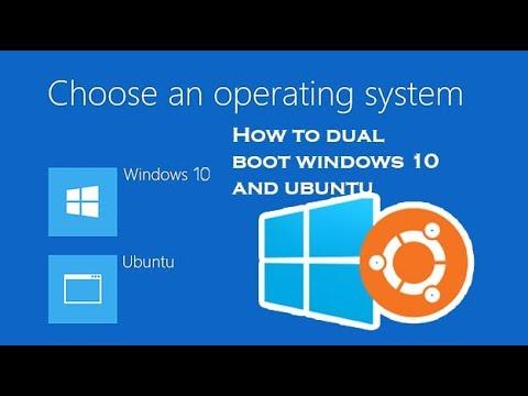 Dual boot Windows 10 and Ubuntu 16 04 [ NO virtual machine] Full tutorial