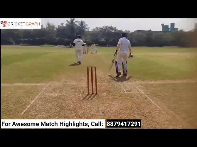 UHD Umpire View of a  cricket match highlights | played on cricket ground in mumbai at mahul