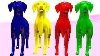 Dog Color Song For Babies || Nursery Rhymes For Cartoon Children Rhymes