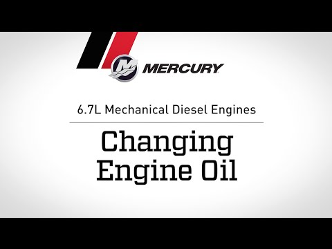 6.7L Mechanical Diesel Engines: Changing Engine Oil