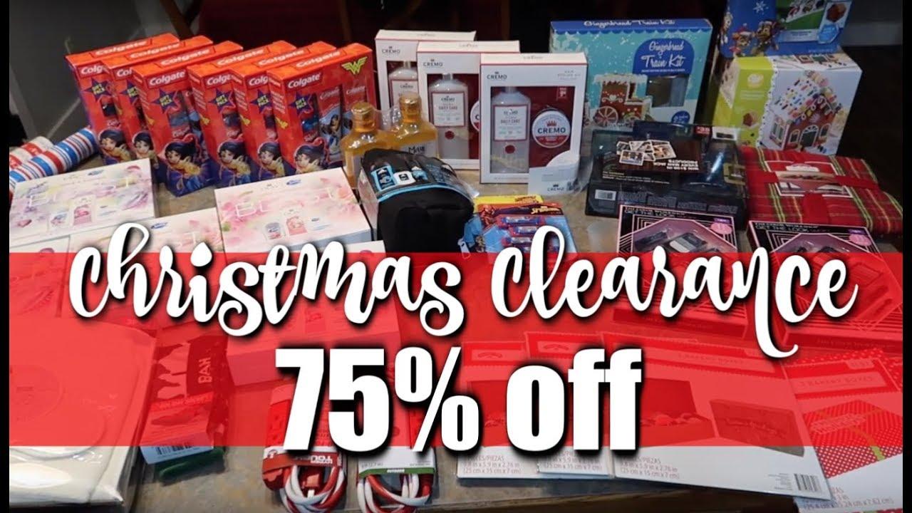 Christmas Clearance 75 Off.Walmart Christmas Clearance Haul 75 Off