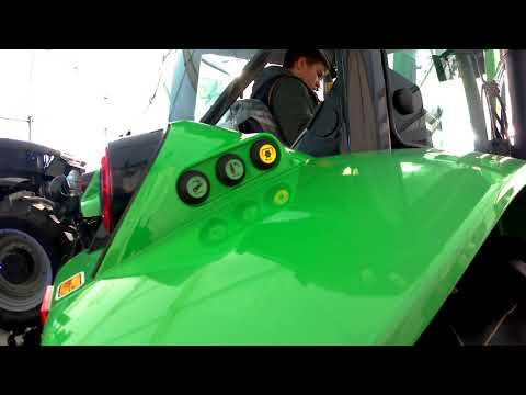 2018 Deutz-Fahr 5125 3.6 Litre 4-Cyl Diesel Tractor (126HP) With Loader