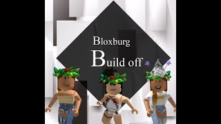 BUILD BATTLE! Roblox bloxburg!