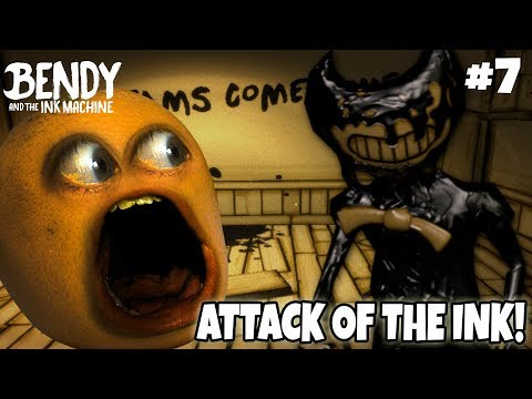 Bendy Ch. 3 ATTACK OF THE INK! #7 [Annoying Orange Plays]