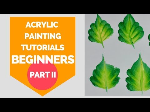 acrylic painting tutorial for beginners | part 2