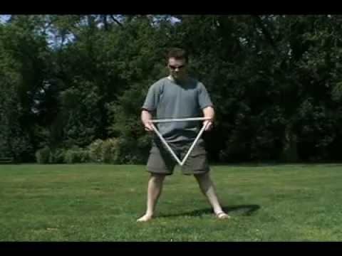 Devil's Triangle and other devil stick tricks