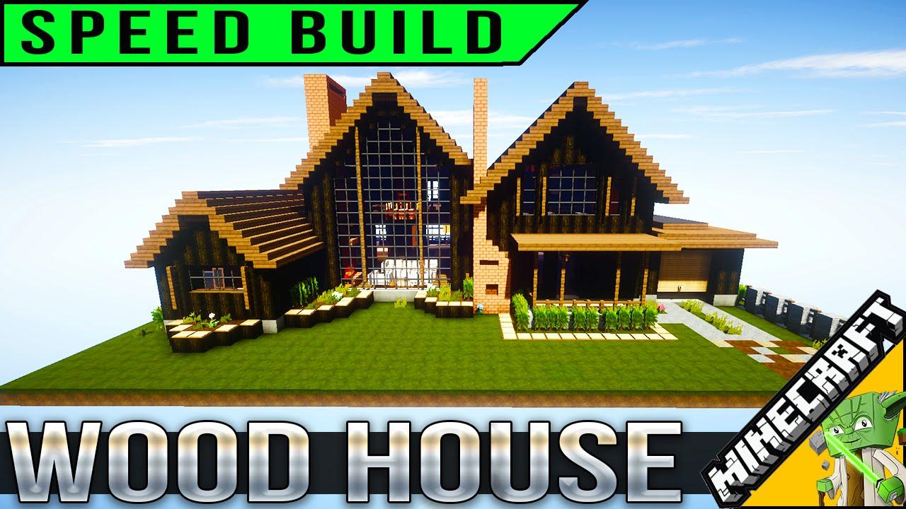 Minecraft Speedbuild - Wooden House