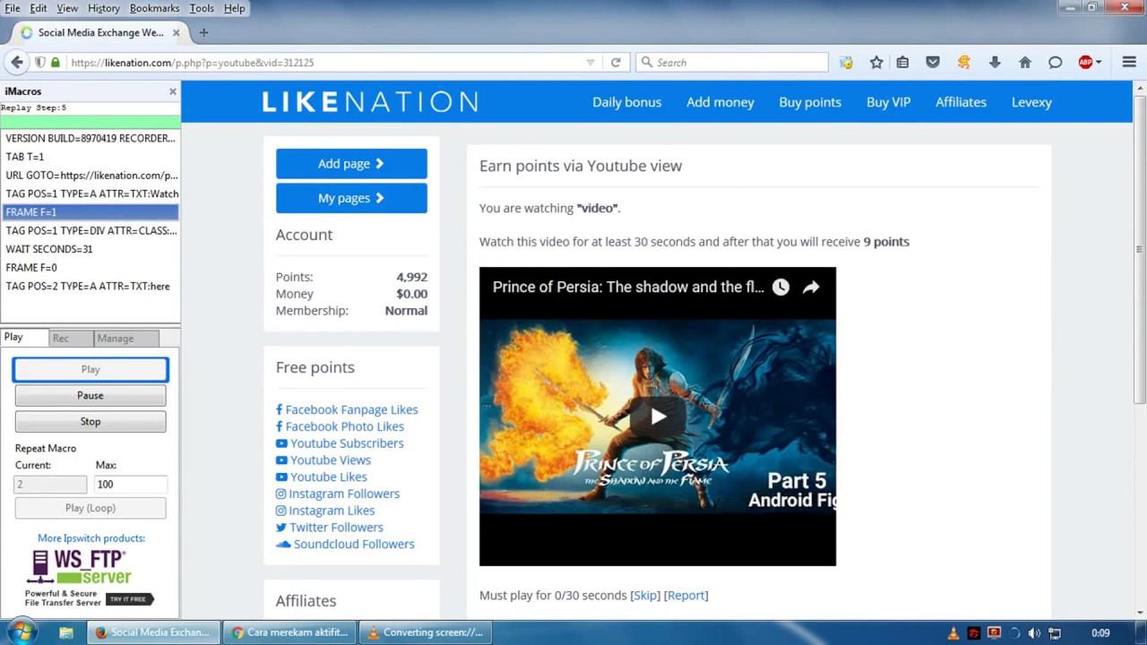Likenation Bot