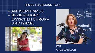 Jenny Havemann Talk mit Olga Deutsch