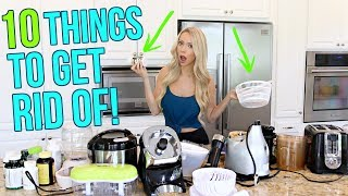 DECLUTTER WITH ME! 10 Things to Get Rid of TODAY!