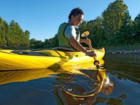 Kayak Technique - Sweep Strokes