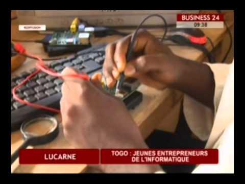 Business 24 / Lucarne - Togo : Jeunes entrepreneurs de l'informatique