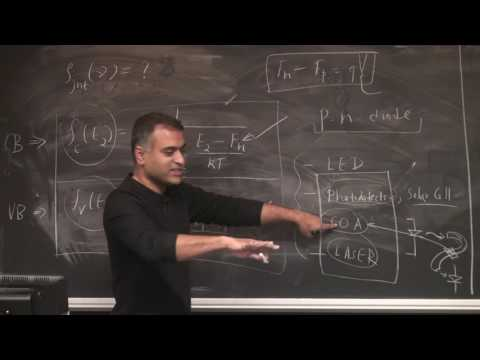 Lasers & Optoelectronics Lecture 32: Gain in Semiconductor Laser Diodes (Cornell ECE4300 Fall 2016)
