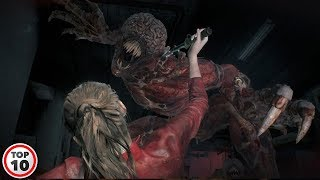 Top 10 Scariest Moments In Resident Evil