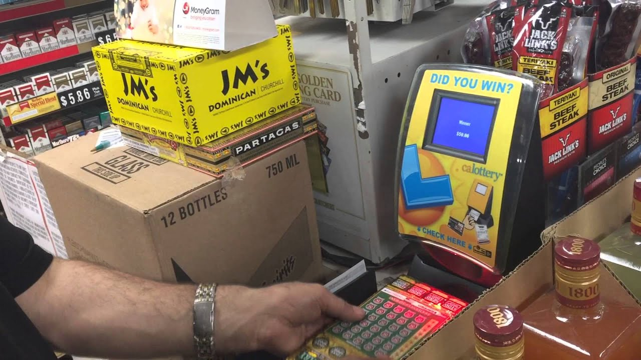 Buying Lottery Scratch Off Tickets In Bulk [video]
