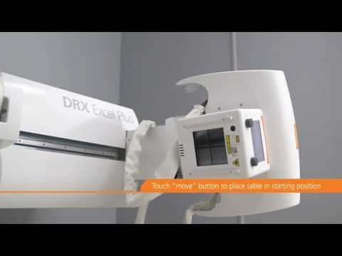 DRX-Excel Plus - Long-length Imaging X-ray Exam Workflow - Medical Imaging