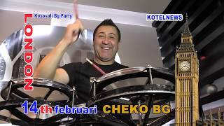 CHEKO BG 14th FEBRUARY LONDON Kosovali Bg Party www.kotelnews.com