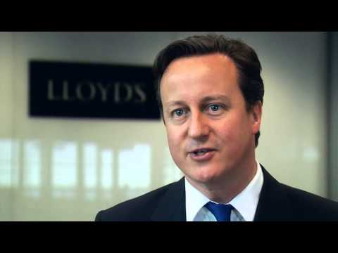 Prime Minister David Cameron at the launch of Vision 2025