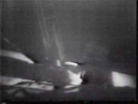 Apollo 11 TV Broadcast - Neil Armstrong First Step on Moon
