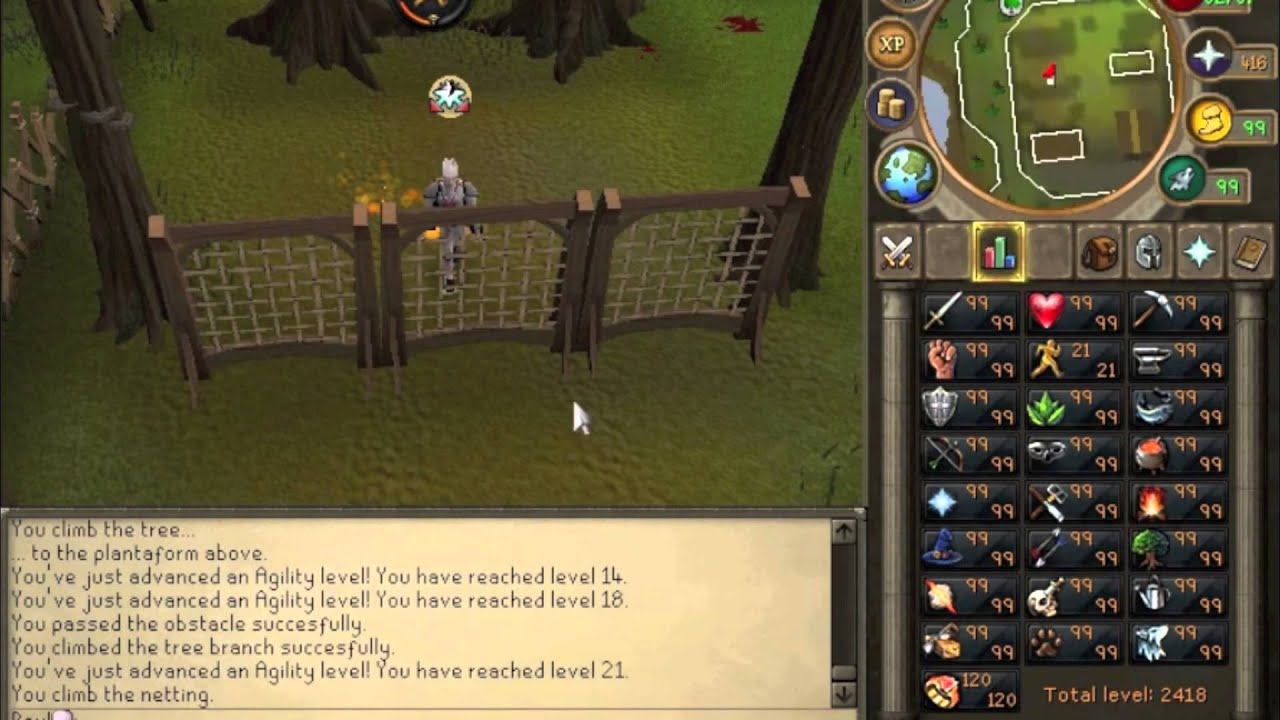1 99 Agility Guide Updated Runescape 2017 Fastest Xp Methods P2p